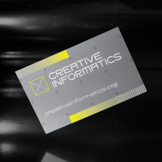 Creative Informatics Businesscards (Peak15 / Sigrid Schmeisser)