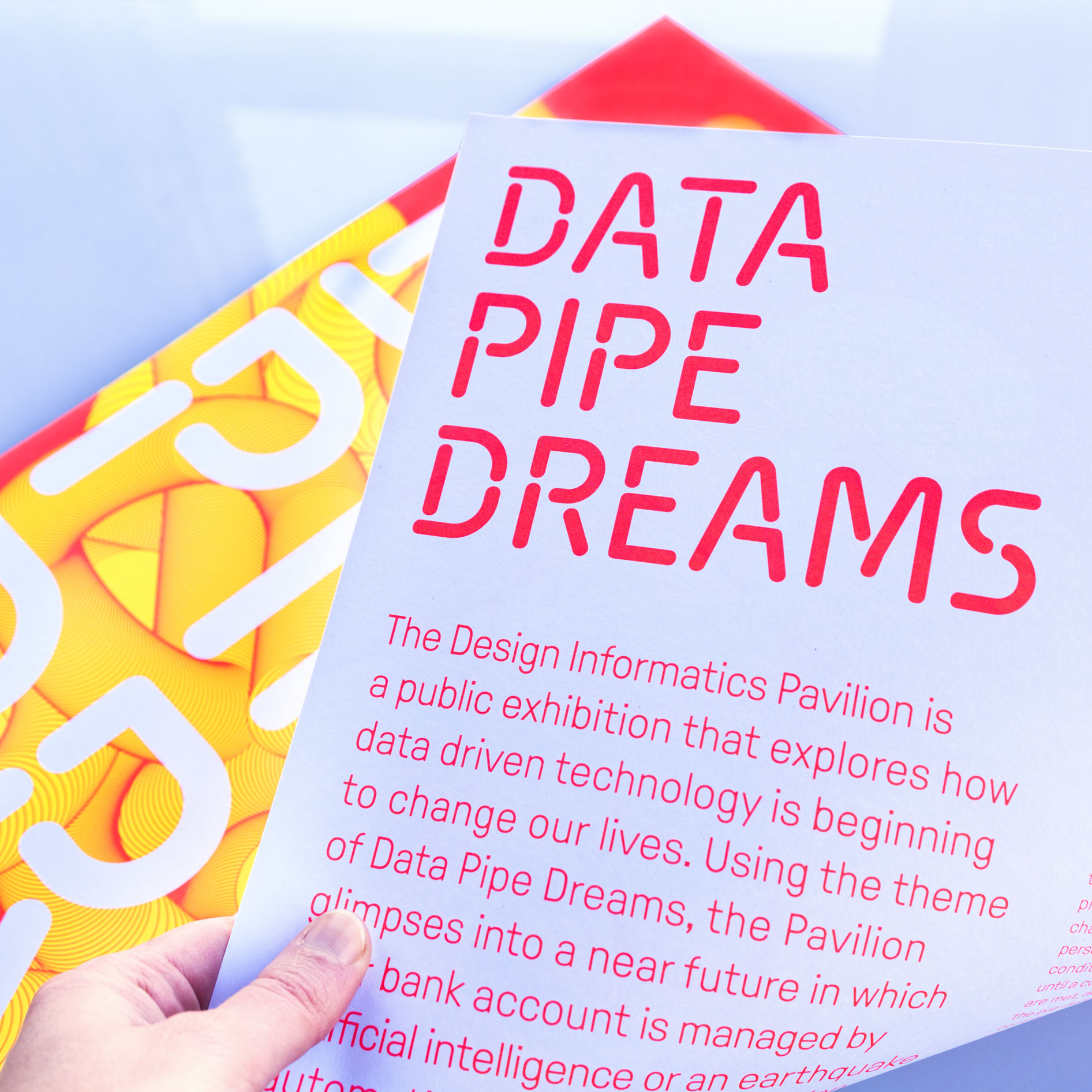 Data Pavilion Design Informatics Poster (Peak15 / Sigrid Schmeisser)