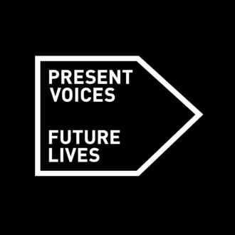 Present Voices – Future Lives Identity Logo, Housing 2040